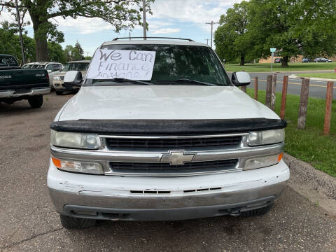 2001 Chevrolet Suburban for sale at Continental Auto Sales in White Bear Lake MN