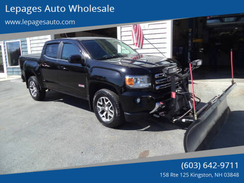 2016 GMC Canyon for sale at Lepages Auto Wholesale in Kingston NH