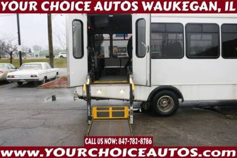 2012 Ford E-450 SD 2DR COMMERCIAL BUS for sale at Your Choice Autos - Waukegan in Waukegan IL