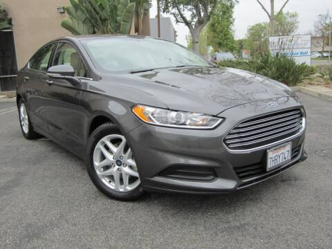 2015 Ford Fusion for sale at ORANGE COUNTY AUTO WHOLESALE in Irvine CA
