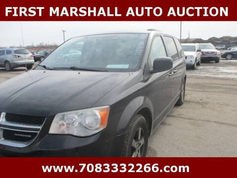 2012 Dodge Grand Caravan for sale at First Marshall Auto Auction in Harvey IL