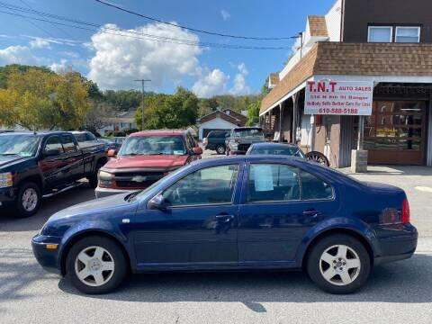 2001 Volkswagen Jetta for sale at TNT Auto Sales in Bangor PA