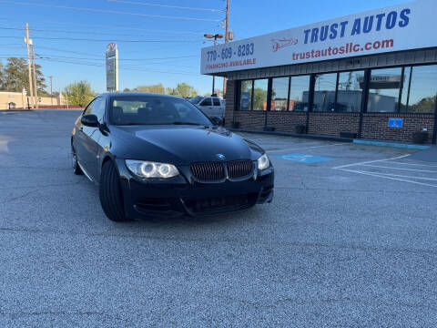 2013 BMW 3 Series for sale at Trust Autos, LLC in Decatur GA