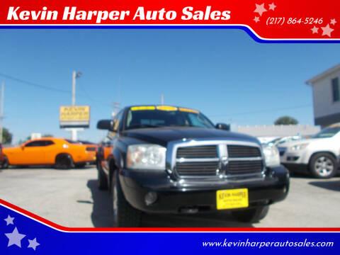 2005 Dodge Dakota for sale at Kevin Harper Auto Sales in Mount Zion IL