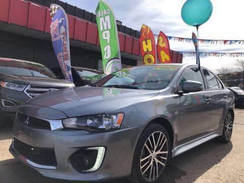 2017 Mitsubishi Lancer for sale at Duke City Auto LLC in Gallup NM