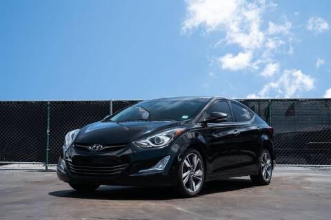 2016 Hyundai Elantra for sale at MATRIX AUTO SALES INC in Miami FL