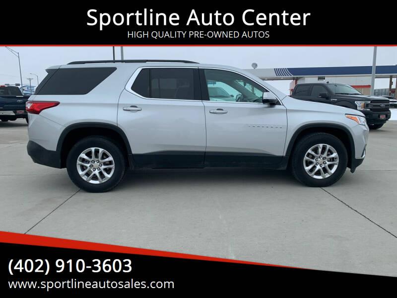 2019 Chevrolet Traverse for sale at Sportline Auto Center in Columbus NE