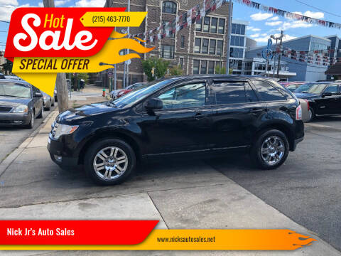 2007 Ford Edge for sale at Nick Jr's Auto Sales in Philadelphia PA