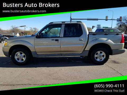 2003 Ford Explorer Sport Trac for sale at Busters Auto Brokers in Mitchell SD