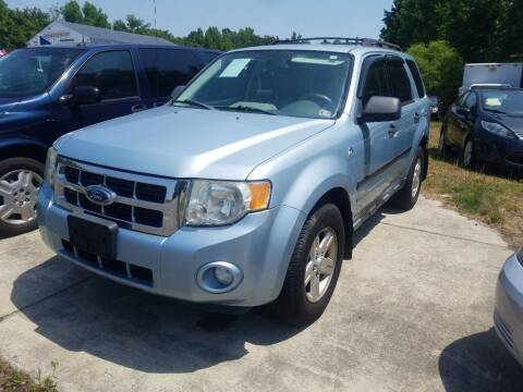 2008 Ford Escape Hybrid for sale at Complete Auto Credit in Moyock NC