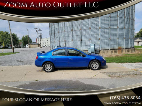 2005 Dodge Neon for sale at Zoom Auto Outlet LLC in Thorntown IN