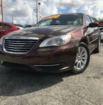 2013 Chrysler 200 for sale at JacksonvilleMotorMall.com in Jacksonville FL