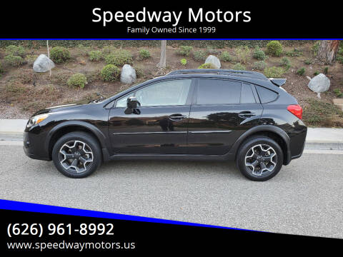 2013 Subaru XV Crosstrek for sale at Speedway Motors in Glendora CA