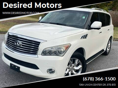 2011 Infiniti QX56 for sale at Desired Motors in Alpharetta GA