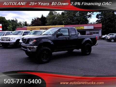 2008 Nissan Frontier for sale at Auto Lane in Portland OR