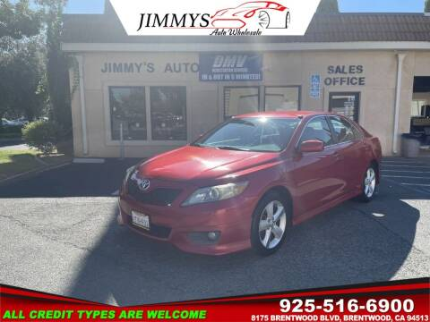 2010 Toyota Camry for sale at JIMMY'S AUTO WHOLESALE in Brentwood CA