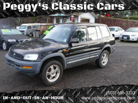 1997 Toyota RAV4 for sale at Peggy's Classic Cars in Oregon City OR