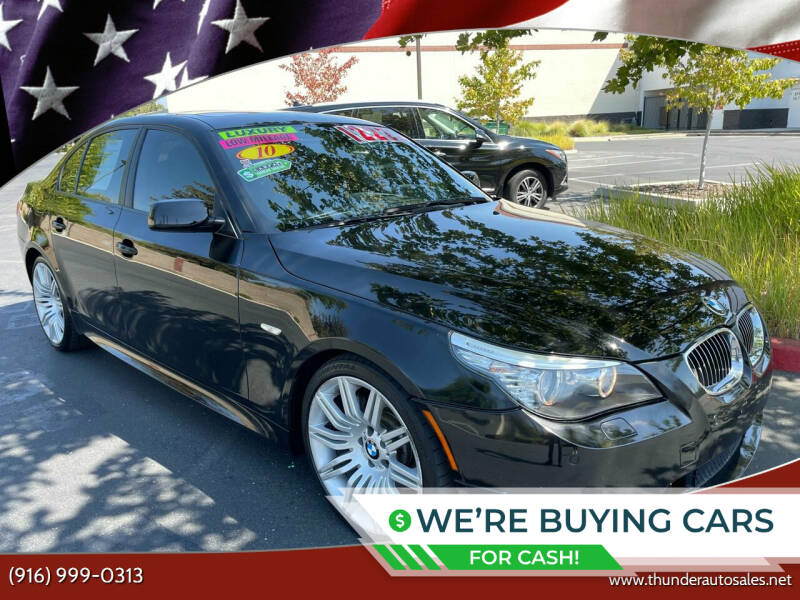2010 BMW 5 Series for sale at Thunder Auto Sales in Sacramento CA