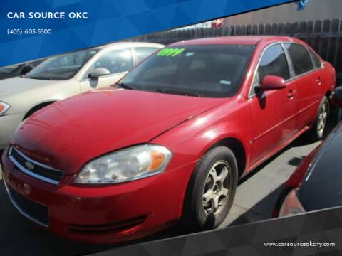 2007 Chevrolet Impala for sale at CAR SOURCE OKC in Oklahoma City OK