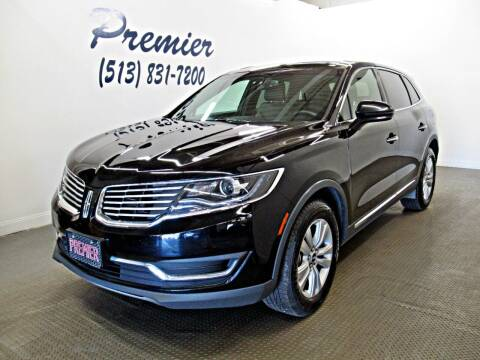 2018 Lincoln MKX for sale at Premier Automotive Group in Milford OH