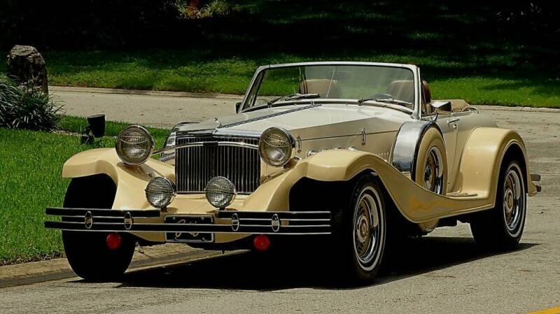 1981 Duesenberg GATSBY Model J Replica for sale at Collector Car Co in Zanesville OH