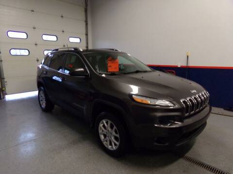 2014 Jeep Cherokee for sale at Pool Auto Sales Inc in Spencerport NY