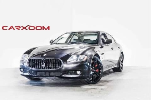 2011 Maserati Quattroporte for sale at CarXoom in Marietta GA