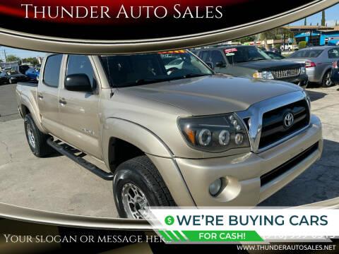 2006 Toyota Tacoma for sale at Thunder Auto Sales in Sacramento CA