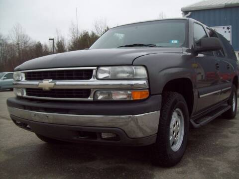 2002 Chevrolet Suburban for sale at Frank Coffey in Milford NH