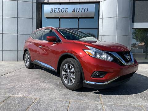 2017 Nissan Murano for sale at Berge Auto in Orem UT