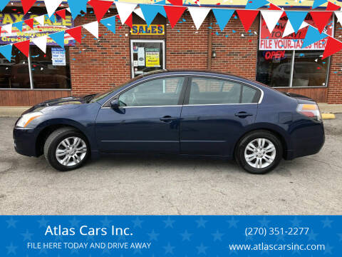 2012 Nissan Altima for sale at Atlas Cars Inc. in Radcliff KY