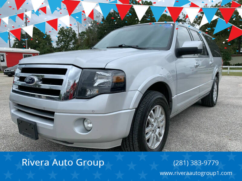 2014 Ford Expedition EL for sale at Rivera Auto Group in Spring TX