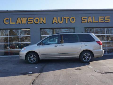 2005 Toyota Sienna for sale at Clawson Auto Sales in Clawson MI
