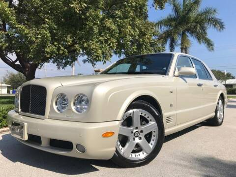 2007 Bentley Arnage for sale at DS Motors in Boca Raton FL