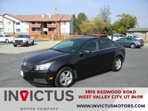 2011 Chevrolet Cruze for sale at INVICTUS MOTOR COMPANY in West Valley City UT