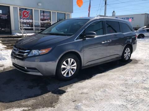 2017 Honda Odyssey for sale at Bagwell Motors Springdale in Springdale AR