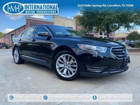 2019 Ford Taurus for sale at International Motor Productions in Carrollton TX