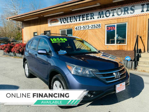 2013 Honda CR-V for sale at Kerwin's Volunteer Motors in Bristol TN