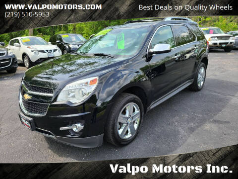 2014 Chevrolet Equinox for sale at Valpo Motors Inc. in Valparaiso IN