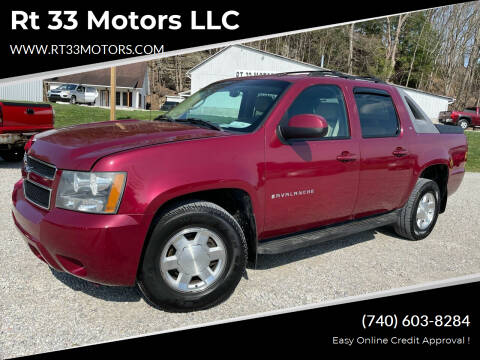 2007 Chevrolet Avalanche for sale at Rt 33 Motors LLC in Rockbridge OH