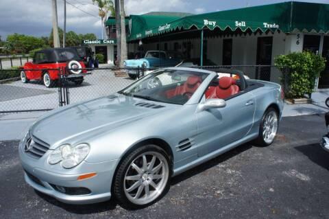 2004 Mercedes-Benz SL-Class for sale at Dream Machines USA in Lantana FL