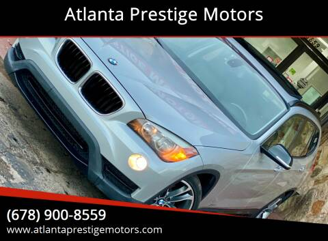 2013 BMW X1 for sale at Atlanta Prestige Motors in Decatur GA