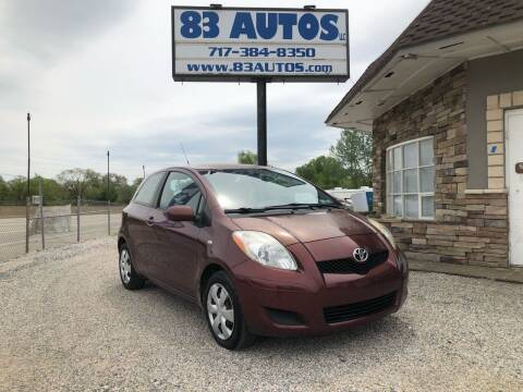 2009 Toyota Yaris for sale at 83 Autos in York PA