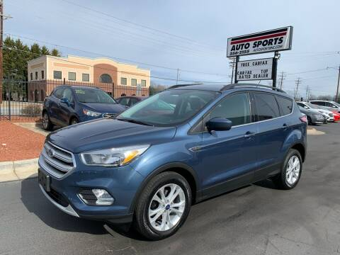 2018 Ford Escape for sale at Auto Sports in Hickory NC
