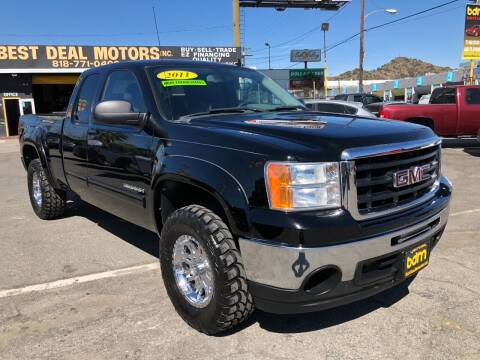 2011 GMC Sierra 1500 for sale at BEST DEAL MOTORS  INC. CARS AND TRUCKS FOR SALE in Sun Valley CA
