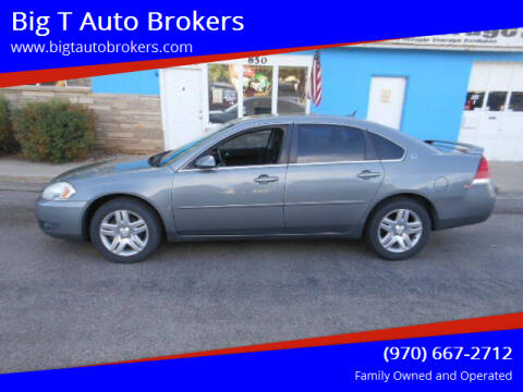 2008 Chevrolet Impala for sale at Big T Auto Brokers in Loveland CO