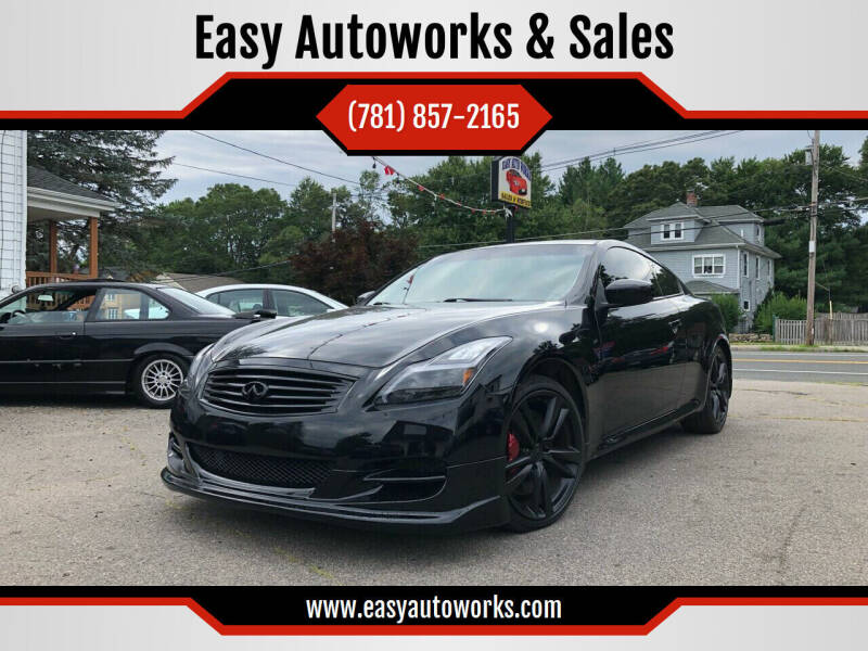 2008 Infiniti G37 for sale at Easy Autoworks & Sales in Whitman MA