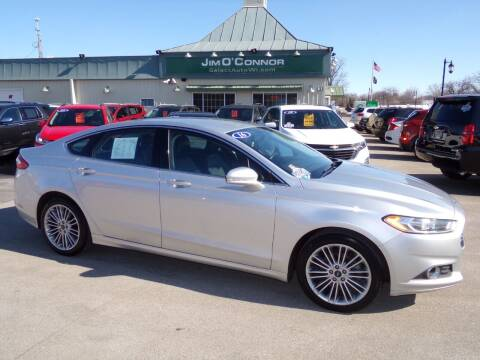 2016 Ford Fusion for sale at Jim O'Connor Select Auto in Oconomowoc WI