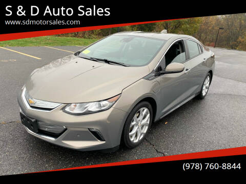 2017 Chevrolet Volt for sale at S & D Auto Sales in Maynard MA
