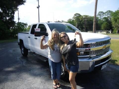 2019 Chevrolet Silverado 2500HD for sale at HOGSTEN AUTO WHOLESALE in Ocala FL